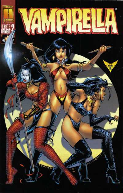 Vampirella The New Monthly #8 Comic Books - Covers, Scans, Photos  in Vampirella The New Monthly Comic Books - Covers, Scans, Gallery