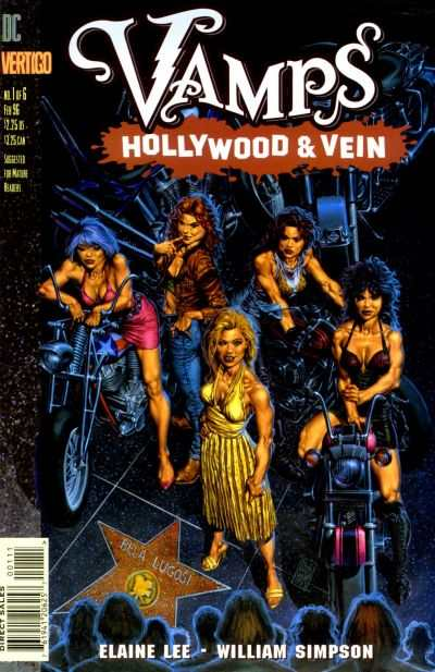 Vamps: Hollywood & Vein #1 cheap bargain discounted comic books Vamps: Hollywood & Vein #1 comic books