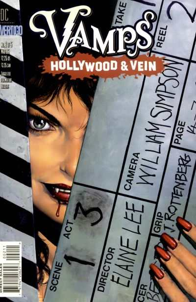 Vamps: Hollywood & Vein #2 comic books - cover scans photos Vamps: Hollywood & Vein #2 comic books - covers, picture gallery