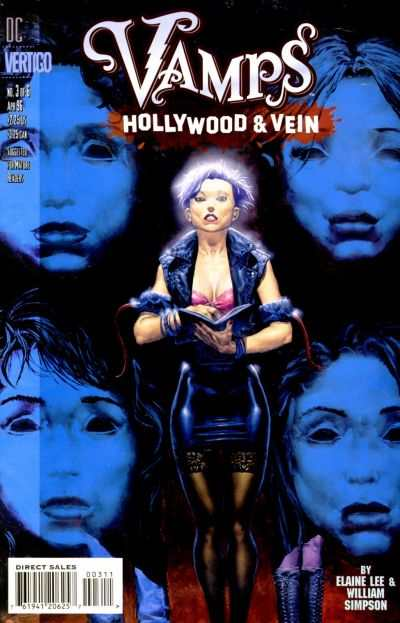Vamps: Hollywood & Vein #3 comic books - cover scans photos Vamps: Hollywood & Vein #3 comic books - covers, picture gallery