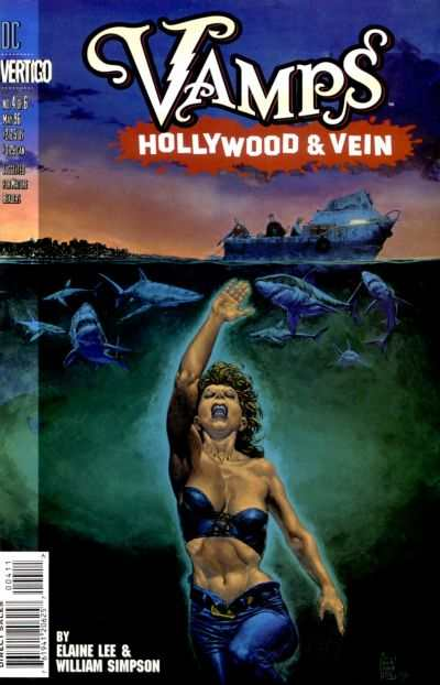 Vamps: Hollywood & Vein #4 cheap bargain discounted comic books Vamps: Hollywood & Vein #4 comic books