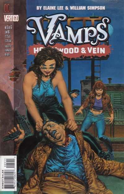 Vamps: Hollywood & Vein #5 comic books - cover scans photos Vamps: Hollywood & Vein #5 comic books - covers, picture gallery
