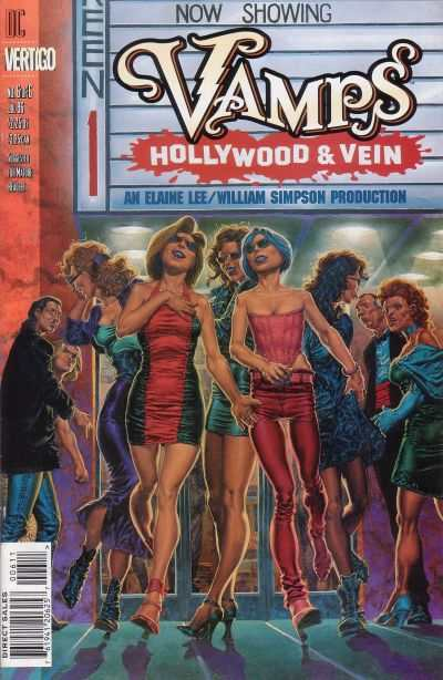 Vamps: Hollywood & Vein #6 comic books - cover scans photos Vamps: Hollywood & Vein #6 comic books - covers, picture gallery