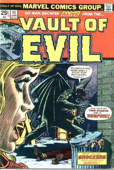 Vault of Evil #11 Comic Books - Covers, Scans, Photos  in Vault of Evil Comic Books - Covers, Scans, Gallery