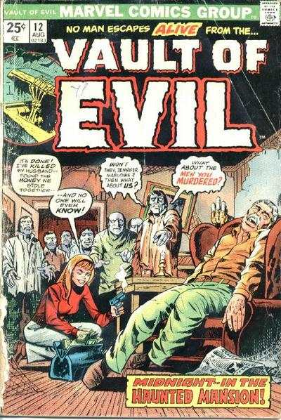 Vault of Evil #12 Comic Books - Covers, Scans, Photos  in Vault of Evil Comic Books - Covers, Scans, Gallery