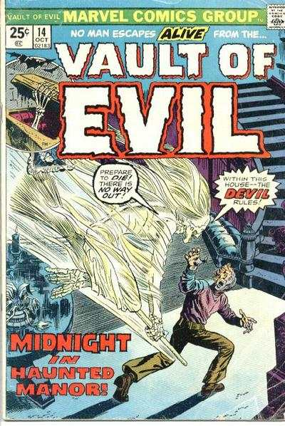 Vault of Evil #14 Comic Books - Covers, Scans, Photos  in Vault of Evil Comic Books - Covers, Scans, Gallery