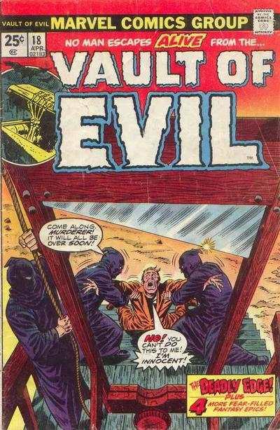 Vault of Evil #18 Comic Books - Covers, Scans, Photos  in Vault of Evil Comic Books - Covers, Scans, Gallery