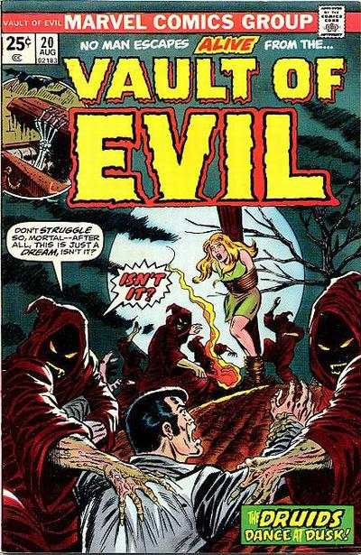 Vault of Evil #20 Comic Books - Covers, Scans, Photos  in Vault of Evil Comic Books - Covers, Scans, Gallery