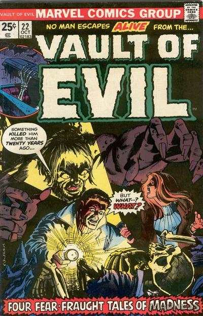 Vault of Evil #22 Comic Books - Covers, Scans, Photos  in Vault of Evil Comic Books - Covers, Scans, Gallery