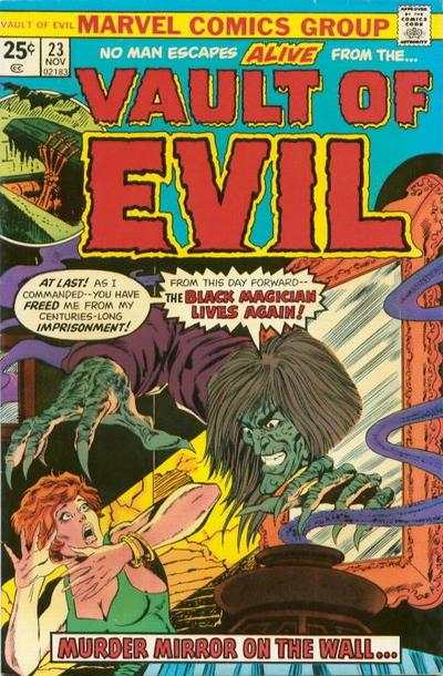 Vault of Evil #23 Comic Books - Covers, Scans, Photos  in Vault of Evil Comic Books - Covers, Scans, Gallery
