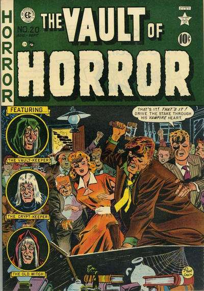 Vault of Horror #20 comic books - cover scans photos Vault of Horror #20 comic books - covers, picture gallery