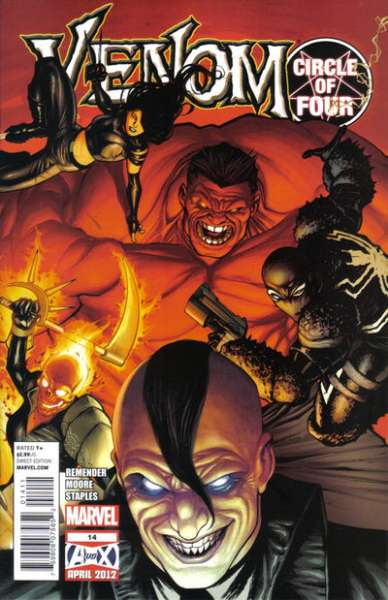 Venom #14 Comic Books - Covers, Scans, Photos  in Venom Comic Books - Covers, Scans, Gallery