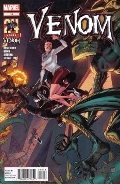 Venom #18 Comic Books - Covers, Scans, Photos  in Venom Comic Books - Covers, Scans, Gallery