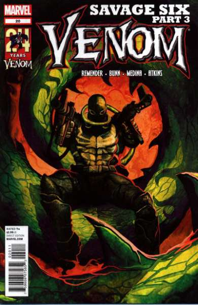 Venom #20 Comic Books - Covers, Scans, Photos  in Venom Comic Books - Covers, Scans, Gallery