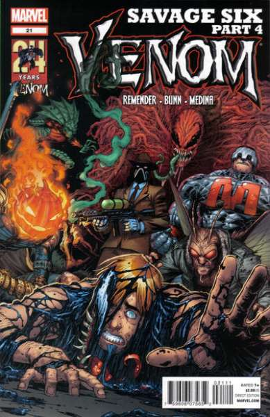 Venom #21 Comic Books - Covers, Scans, Photos  in Venom Comic Books - Covers, Scans, Gallery