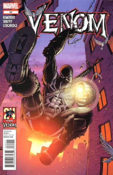 Venom #22 Comic Books - Covers, Scans, Photos  in Venom Comic Books - Covers, Scans, Gallery