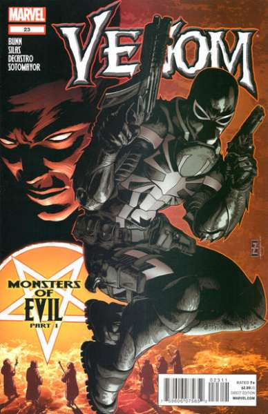 Venom #23 Comic Books - Covers, Scans, Photos  in Venom Comic Books - Covers, Scans, Gallery