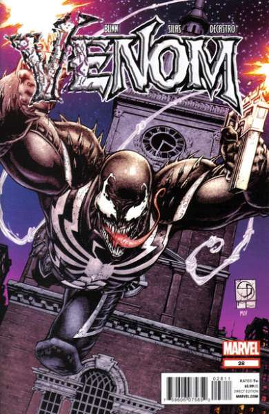 Venom #28 Comic Books - Covers, Scans, Photos  in Venom Comic Books - Covers, Scans, Gallery