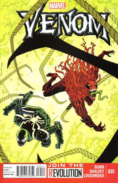 Venom #35 Comic Books - Covers, Scans, Photos  in Venom Comic Books - Covers, Scans, Gallery