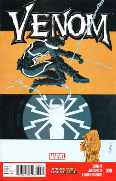 Venom #38 comic books - cover scans photos Venom #38 comic books - covers, picture gallery