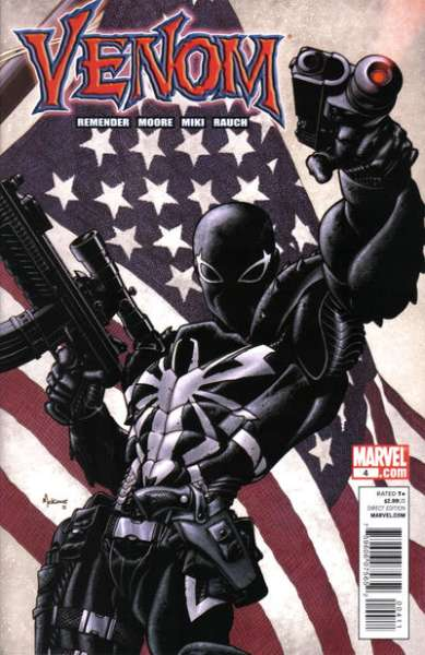 Venom #4 Comic Books - Covers, Scans, Photos  in Venom Comic Books - Covers, Scans, Gallery
