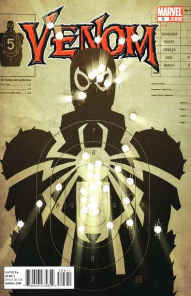 Venom #5 Comic Books - Covers, Scans, Photos  in Venom Comic Books - Covers, Scans, Gallery