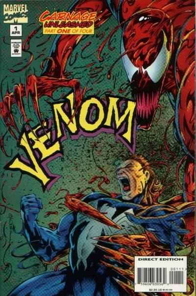 Venom: Carnage Unleashed #1 comic books for sale