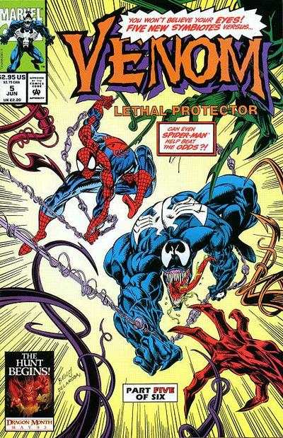 Venom: Lethal Protector #5 comic books - cover scans photos Venom: Lethal Protector #5 comic books - covers, picture gallery