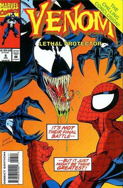 Venom: Lethal Protector #6 Comic Books - Covers, Scans, Photos  in Venom: Lethal Protector Comic Books - Covers, Scans, Gallery