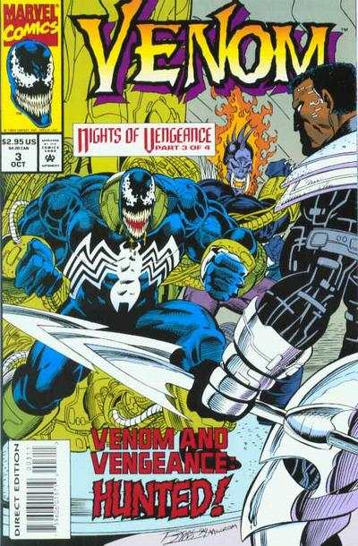Venom: Nights of Vengeance #3 comic books - cover scans photos Venom: Nights of Vengeance #3 comic books - covers, picture gallery