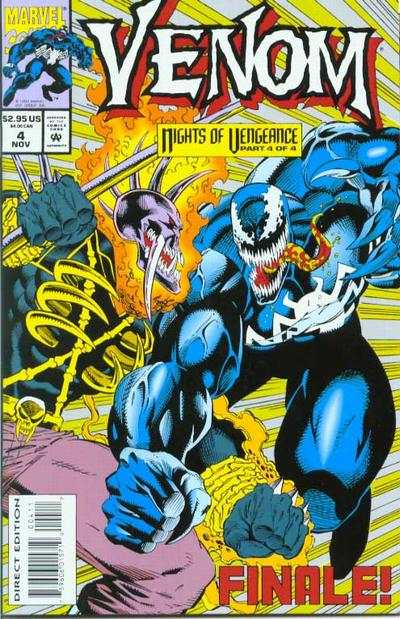 Venom: Nights of Vengeance #4 comic books for sale