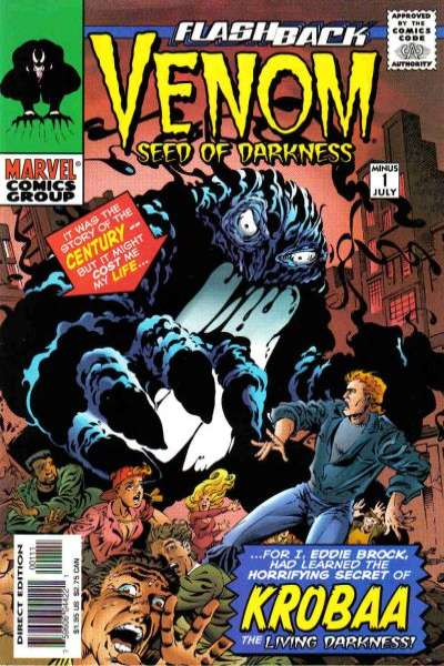 Venom: Seed of Darkness comic books