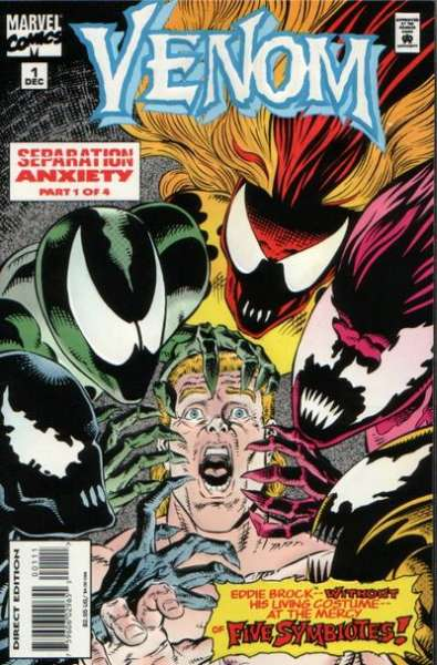 Venom: Separation Anxiety #1 Comic Books - Covers, Scans, Photos  in Venom: Separation Anxiety Comic Books - Covers, Scans, Gallery