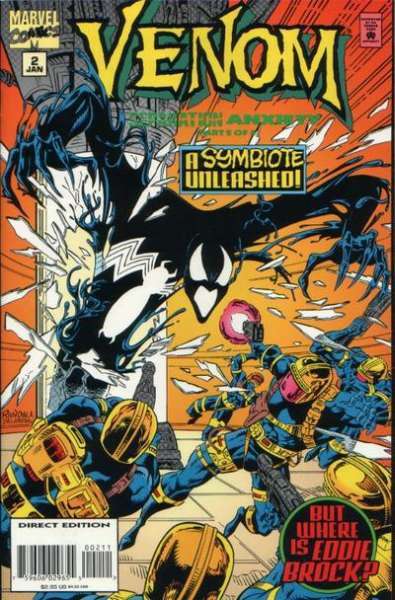 Venom: Separation Anxiety #2 Comic Books - Covers, Scans, Photos  in Venom: Separation Anxiety Comic Books - Covers, Scans, Gallery