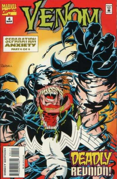 Venom: Separation Anxiety #4 comic books for sale