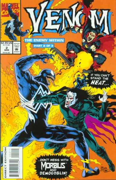 Venom: The Enemy Within #2 Comic Books - Covers, Scans, Photos  in Venom: The Enemy Within Comic Books - Covers, Scans, Gallery