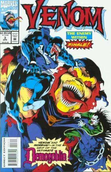 Venom: The Enemy Within #3 Comic Books - Covers, Scans, Photos  in Venom: The Enemy Within Comic Books - Covers, Scans, Gallery