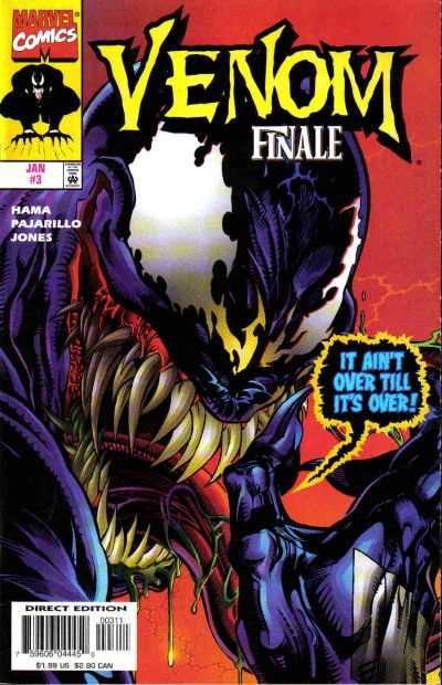 Venom: The Finale #3 comic books - cover scans photos Venom: The Finale #3 comic books - covers, picture gallery