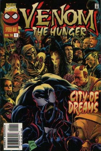 Venom: The Hunger #1 comic books - cover scans photos Venom: The Hunger #1 comic books - covers, picture gallery