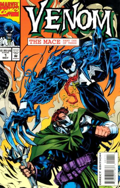 Venom: The Mace # comic book complete sets Venom: The Mace # comic books