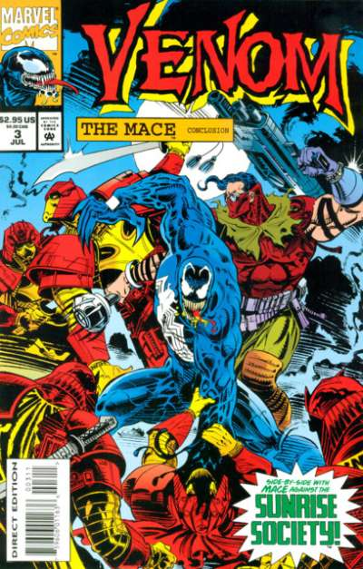 Venom: The Mace #3 comic books for sale