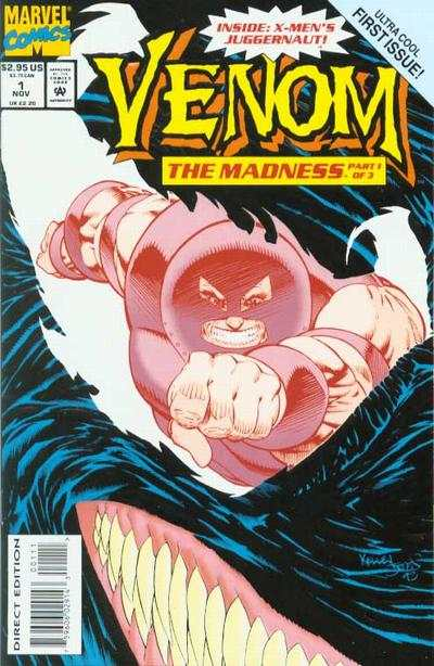 Venom: The Madness #1 Comic Books - Covers, Scans, Photos  in Venom: The Madness Comic Books - Covers, Scans, Gallery