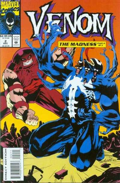 Venom: The Madness #2 comic books - cover scans photos Venom: The Madness #2 comic books - covers, picture gallery