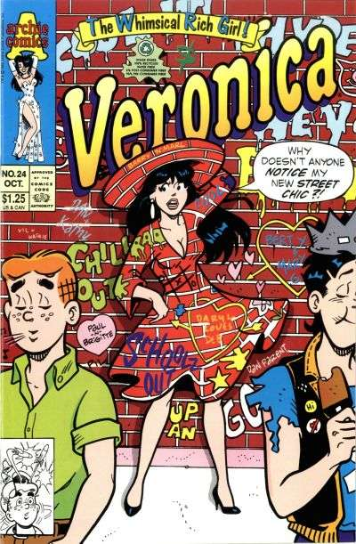 Veronica #24 Comic Books - Covers, Scans, Photos  in Veronica Comic Books - Covers, Scans, Gallery