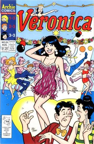 Veronica #29 comic books for sale