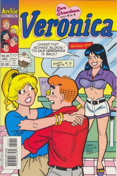Veronica #39 Comic Books - Covers, Scans, Photos  in Veronica Comic Books - Covers, Scans, Gallery