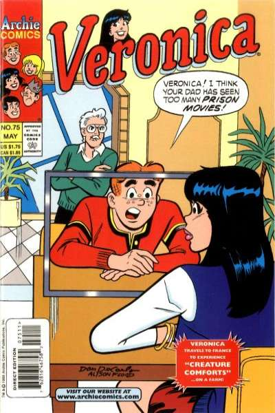 Veronica #75 comic books for sale