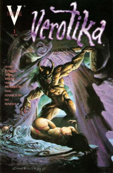 Verotika #1 Comic Books - Covers, Scans, Photos  in Verotika Comic Books - Covers, Scans, Gallery