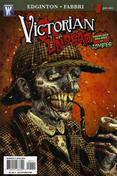 Victorian Undead comic books