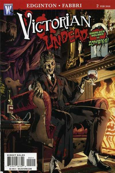 Victorian Undead #2 Comic Books - Covers, Scans, Photos  in Victorian Undead Comic Books - Covers, Scans, Gallery